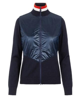 Luna Knitted Hybrid Sweater W