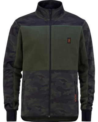 Camo Fleece Jacket M