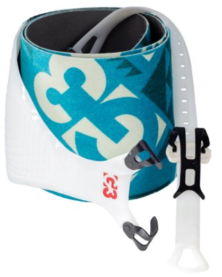 Alpinist + Glide Skins 130 mm