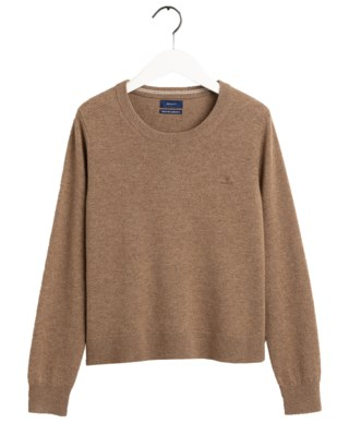 Superfine Lambswool Crew W