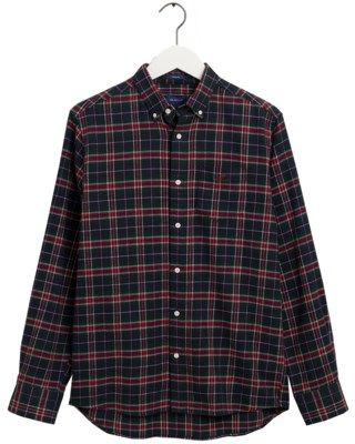 Flannel Check Regular Fit M