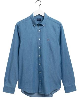 The Indigo Slim Shirt M