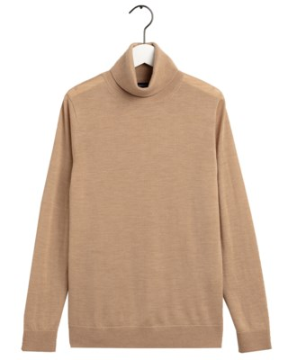 Washable Merino Turtleneck W