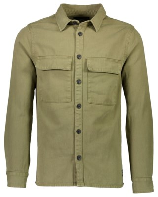 Cotton Twill Utility Overshirt M 2-300051