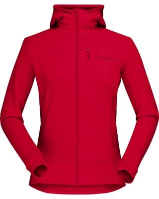 Falketind Warmwool2 Stretch Zip Hood W