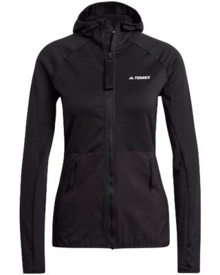 Terrex Fleece Light Hood Jacket W