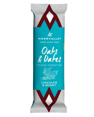 Organic Energy Bar  - Chocolate & Seasalt
