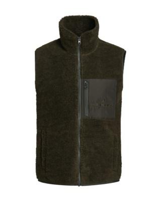 Original Pile Zip Vest M
