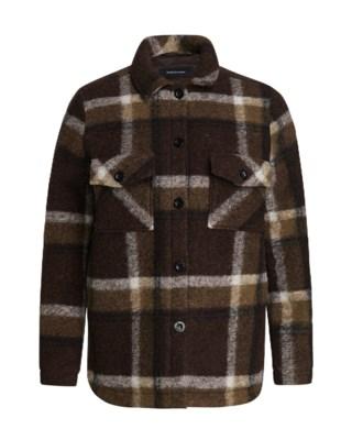 Kelly Wool Shirt Jacket W