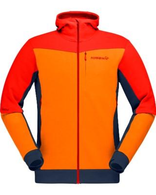 Falketind Warmwool2 Stretch Zip Hood M