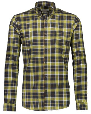 Checked Brushed Shirt L/S M 30-203210