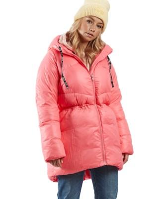 Mid Length Shiny Jacket W