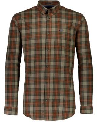 Overdyed Check Shirt L/S M 30-220108