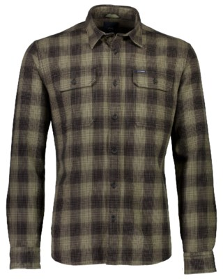 Brushed Checked Shirt L/S M 30-228002