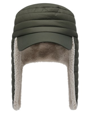 Hollis Quilted Ear Flap Cap W