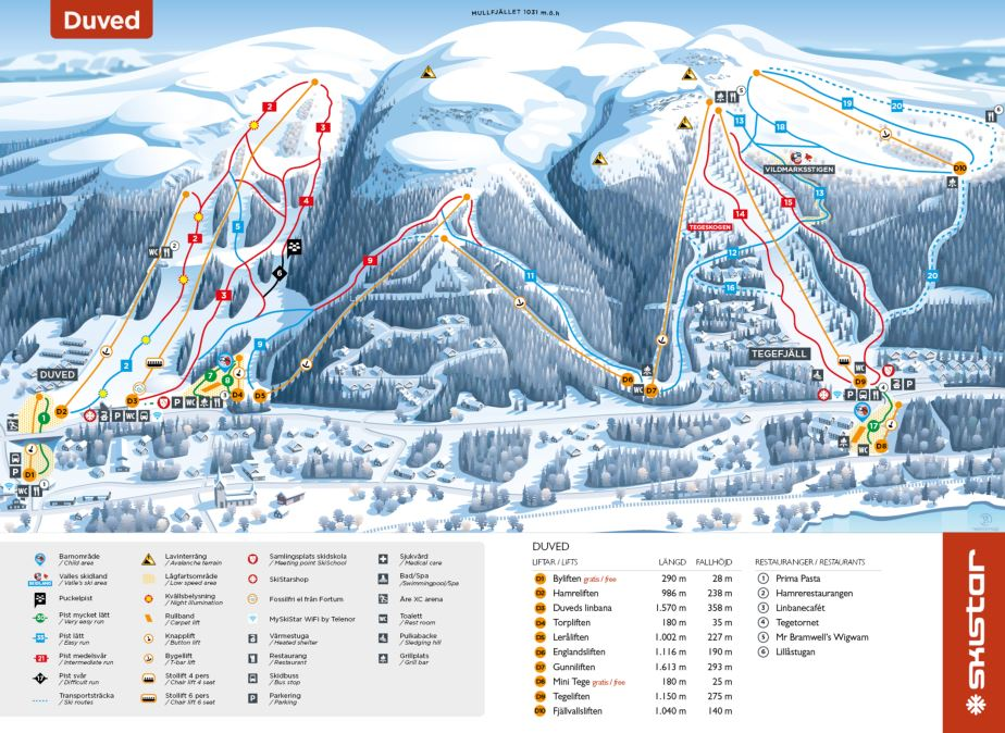 Piste Maps And Area Maps Over Are